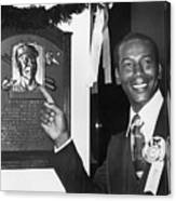 Ernie Banks Canvas Print