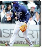 Evan Longoria Canvas Print