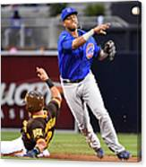Everth Cabrera and Starlin Castro Canvas Print