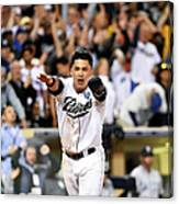 Everth Cabrera Canvas Print