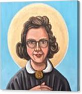 Flannery O' Connor  Canvas Print