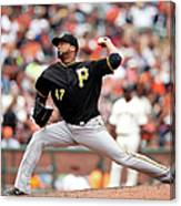 Francisco Liriano Canvas Print