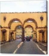 Fredericia Gate Canvas Print