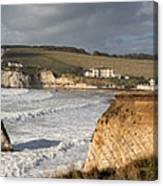 Freshwater Bay panorama Canvas Print