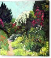 Garden Path Giverney Canvas Print