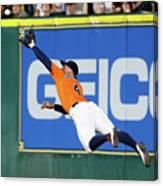 George Springer and Adam Duvall Canvas Print