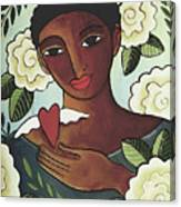 Giving Love Canvas Print