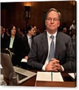 Google CEO Testifies At Senate Hearing On Antitrust Policy Canvas Print