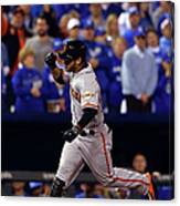 Gregor Blanco Canvas Print