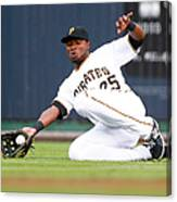 Gregory Polanco Canvas Print