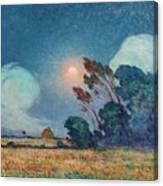- Gust of Wind with Setting Sun Ferdinand du Puigaudeau D4060 1864-1930 Canvas Gallery Wrapped Giclee Wall Art Print