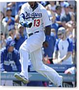 Hanley Ramirez and Adrian Gonzalez Canvas Print