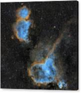 Heart and Soul Nebula Canvas Print