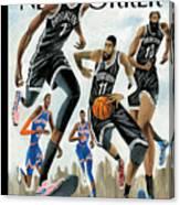 Hoop Dreams in New York Canvas Print