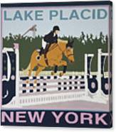 Lake Placid Horse Show Canvas Print