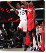 Houston Rockets v Toronto Raptors Canvas Print