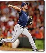 Huston Street Canvas Print