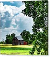 Indiana Barn #4 Canvas Print