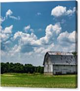 Indiana Barn, #5 Canvas Print
