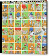 Inside Baseball Canvas Print
