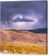 Is That Cloud Holy? Canvas Print