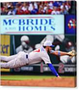 Jack Flaherty and Kris Bryant Canvas Print