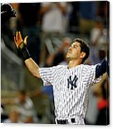 Jacoby Ellsbury and Mark Teixeira Canvas Print