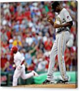 James Mcdonald and Jimmy Rollins Canvas Print