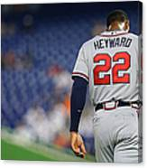 Jason Heyward Canvas Print