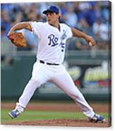 Jason Vargas Canvas Print