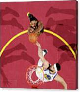 Javale Mcgee and Tristan Thompson Canvas Print