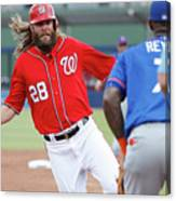 Jayson Werth and Bryce Harper Canvas Print