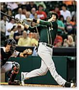 Jed Lowrie Canvas Print