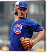 Jeff Samardzija Canvas Print