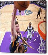 Jeff Withey Canvas Print