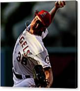 Jered Weaver Canvas Print