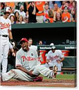 Jerome Williams and Ryan Flaherty Canvas Print