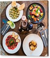 Jewish cuisine Canvas Print