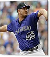 Jhoulys Chacin Canvas Print