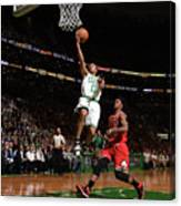 Jimmy Butler and Avery Bradley Canvas Print