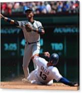 Joey Gallo and Starlin Castro Canvas Print