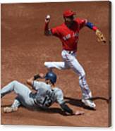 Joey Gallo and Troy Tulowitzki Canvas Print