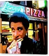 John Travolta - How to Eat Pizza Canvas Print