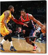 John Wall and Kyrie Irving Canvas Print