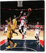 John Wall and Lance Stephenson Canvas Print