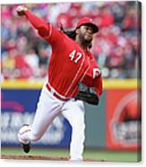 Johnny Cueto Canvas Print