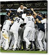 Johnny Damon Canvas Print