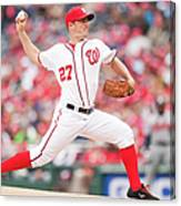 Jordan Zimmermann Canvas Print