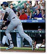 Jorge De La Rosa and Ryan Braun Canvas Print