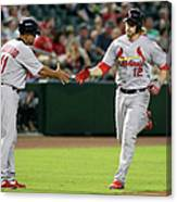 Jose Oquendo and Mark Reynolds Canvas Print